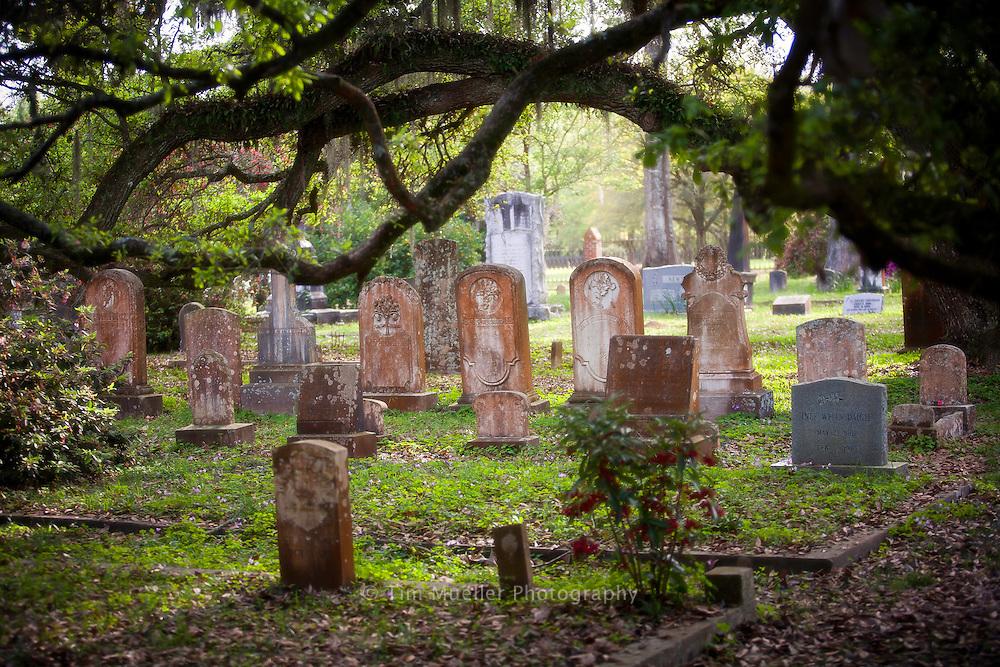 Grace Episcopal Church cemetery in St. Francisville, La.
