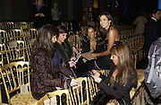 Valentino couture show, Ecole Nationale Superiore des Beaux -Arts, rue Bonaparte. After party at the Ritz. 23 January  2006.  ONE TIME USE ONLY - DO NOT ARCHIVE  © Copyright Photograph by Dafydd Jones 66 Stockwell Park Rd. London SW9 0DA Tel 020 7733 0108 www.dafjones.com