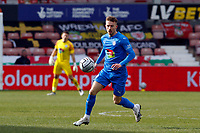 Elliot Newby. Wrexham AFC 0-3 Stockport County FC. Vanarama National League. The Racecourse Ground. 10.4.21