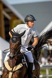 Greve Willem, NED, Zypria S NOP<br /> Nederlands Kampioenschap Springen<br /> De Peelbergen - Kronenberg 2020<br /> © Hippo Foto - Dirk Caremans<br />  06/08/2020