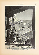 The Village of Siloam from the Tomb of St. James from the book Picturesque Palestine, Sinai, and Egypt By  Colonel Wilson, Charles William, Sir, 1836-1905. Published in New York by D. Appleton and Company in 1881  with engravings in steel and wood from original Drawings by Harry Fenn and J. D. Woodward Volume 1