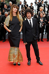 May 14, 2019 - Cannes, Alpes-Maritimes, Frankreich - Caroline de Maigret and Yarol Poupaud attending the opening ceremony and screening of 'The Dead Don't Die' during the 72nd Cannes Film Festival at the Palais des Festivals on May 14, 2019 in Cannes, France (Credit Image: © Future-Image via ZUMA Press)