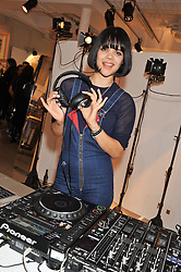 NATASHA KHAN known by her stage name as Bat for Lashes, is an English singer-songwriter and multi-instrumentalist at a party to celebrate the launch of the store & Other Stories, 256 Regent Street, London on 7th March 2013.