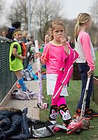 BUNNIK - HOCKEY - Hockeyclub Kromme Rijn, een jonge club. Vrolijke sportkleding. COPYRIGHT KOEN SUYK