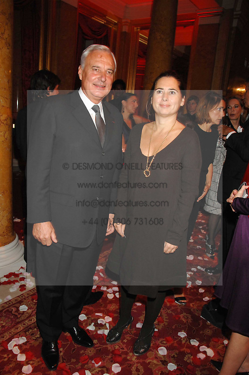 BERNARD FORNAS CEO of Cartier and ALEXANDRA SHULMAN at a party to celebrate the launch of the 'Inde Mysterieuse' jewellery collection held at Lancaster House, London SW1 on 19th September 2007.<br /><br />NON EXCLUSIVE - WORLD RIGHTS
