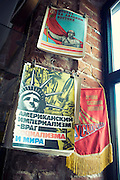 Back in the USSR.<br /> The Soviet Lifestyle Museum in Kazan is a unique place to take a journey to the 70s and 80s of Socialist Russian ordinary life. <br /> Located in an original former communal apartment for 20 people in a house built in the middle of the 19th century, it shows exclusive memorabilia, ordinary life objects, original clothing, children toys, propaganda books and banners.<br /> <br /> © Giorgio Perottino