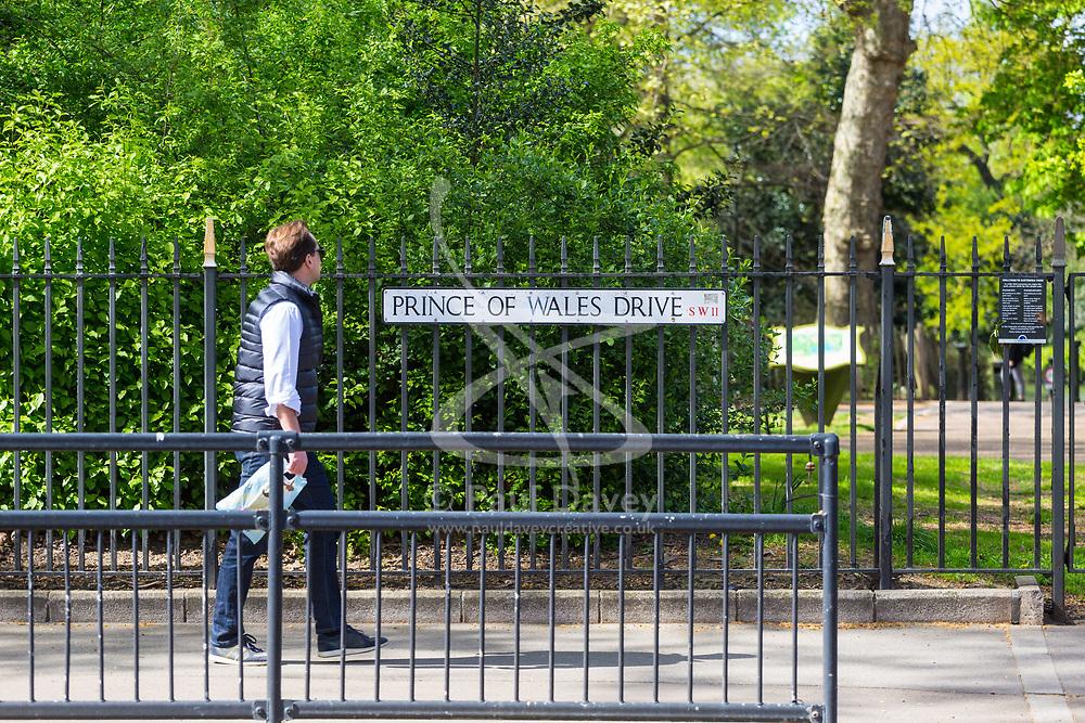 Royal Mail - Prince of Wales Drive, Battersea. London, April 25 2018.