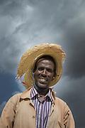 Portrait of a farmer near Adigrat, Tigray Region. Ethiopia, Horn of Africa