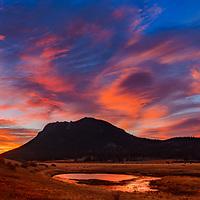 Sunrise at Sheep Lakes - Rocky Mountain National Park