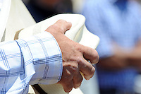 Hats come off for the national anthem at Sunday's final day of the California Rodeo Salinas.