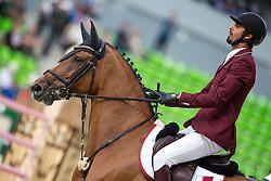 Shaikh Ali bin Khali Al Thani, (QAT), Eurocommerce California - Team & Individual Competition Jumping Speed - Alltech FEI World Equestrian Games™ 2014 - Normandy, France.<br /> © Hippo Foto Team - Leanjo De Koster<br /> 02-09-14