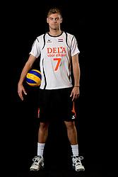 25-04-2013 VOLLEYBAL: NEDERLANDS MANNEN VOLLEYBALTEAM: ROTTERDAM<br /> Selectie Oranje mannen seizoen 2013-2014 / Gijs Jorna<br /> ©2013-FotoHoogendoorn.nl