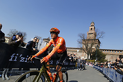 March 23, 2019 - Sanremo, Italy - Belgian Greg Van Avermaet of CCC Team pictured at the 110th edition of the 'Milano-Sanremo' one day cycling race, 294 km from Milan to Sanremo, Italy, Saturday 23 March 2019. (Credit Image: © Yuzuru Sunada/Belga via ZUMA Press)