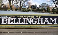 Bellingham sign in Fairhaven