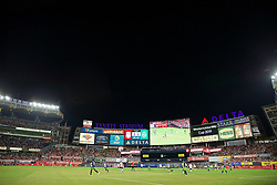 NEW YORK, NEW YORK, USA - Wednesday, July 24, 2019: A general view before a friendly match between Liverpool FC and Sporting Clube de Portugal at the Yankee Stadium on day nine of the club's pre-season tour of America. (Pic by David Rawcliffe/Propaganda)