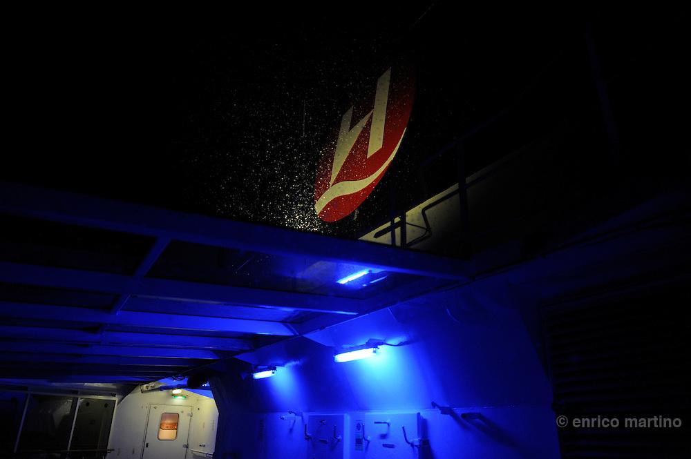 The Hurtigruten MS Richard With ship, the Norwegian Coastal Express line