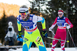Anamarija Lampic (SLO) during the ladies team sprint race at FIS Cross Country World Cup Planica 2016, on January 17, 2016 at Planica, Slovenia. Photo By Urban Urbanc / Sportida