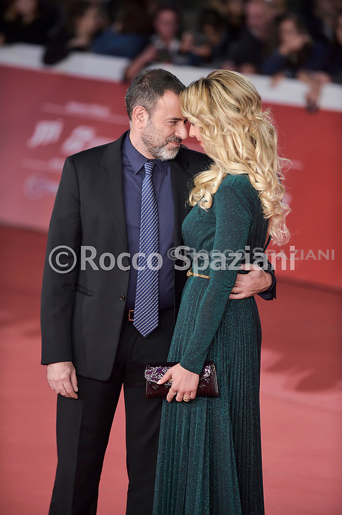 """Motherless Brooklyn"""" Red Carpet - 14th Rome Film Fest 2019<br /> ROME, ITALY - OCTOBER 17: Fausto Brizzi and Silvia Salis attends the """"Motherless Brooklyn"""" red carpet during the 14th Rome Film Festival on October 17, 2019 in Rome, Italy."""
