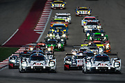 September 19, 2015 World Endurance Championship, Circuit of the Americas. Start of the Lodestar Le Mans at COTA