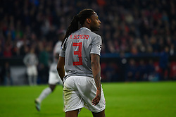 November 6, 2019, Munich, Germany: Ruben Semedo from Olympiacos seen in action during the UEFA Champions League group B match between Bayern and Olympiacos at Allianz Arena in Munich. (Credit Image: © Bruno De Carvalho/SOPA Images via ZUMA Wire)