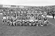 The Kilkenny team before the All Ireland Minor Hurling Final, Tipperary v Kilkenny in Croke Park on the 5th September 1976.