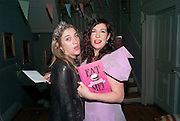 SOPHIE HARLEY; XANTHE MILTON;, Xanthie Milton / Cookie Girl Book Launch 'Eat Me'<br /> at Paradise by way of Kensal Green London. 2 March 2010
