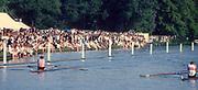 Henley, UNITED KINGDOM. Diamonds Winners, [R] Steve REDGRAVE and Tim CROOKS, 1988 Henley Royal Regatta, Henley Reach. [Mandatory Credit Peter Spurrier/Intersport Images]
