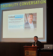 Credibility Conversation - a 3-part speakers series on trust, authenticity, transparency, engagement & building personal and businness value through social media..The November 11, 2009 event featured speakers Lewis Howes and Shawn Morton.