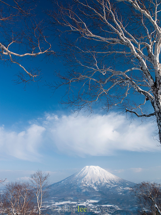 Mount Y?tei in Shikotsu-T?ya National Park, a national park in the central part of the island of Hokkaid?, Japan