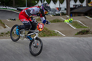 #110 (SMULDERS Laura) NED during round 3 of the 2017 UCI BMX  Supercross World Cup in Zolder, Belgium,