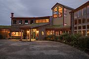 View of building exterior, Hotel Parque Quilquico, Chiloe Island, Chile