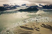 Alsek Lake & Alsek Glacier, Glacier Bay National Park,Alaska