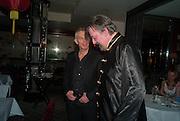 TONY BLAIR; Chinese New Year dinner given by Sir David Tang. China Tang. Park Lane. London. 4 February 2013.