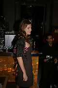 Francesca Versace, W'Sens-restaurant launch party. 12 Waterloo Place. 10 December 2004. ONE TIME USE ONLY - DO NOT ARCHIVE  © Copyright Photograph by Dafydd Jones 66 Stockwell Park Rd. London SW9 0DA Tel 020 7733 0108 www.dafjones.com