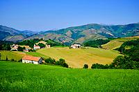 France, Pyrénées-Atlantiques (64), Pays Basque, Esnazu, vallée des Aldudes // France, Pyrénées-Atlantiques (64), Basque Country, Esnazu, Aldudes Valley