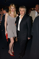 Musician NICK RHODES and MEREDITH OSTROM at a private screening of 'Sketches of Frank Gehry in association with jewellers Tiffany held at the Curzon Cinema, Mayfair on 10th May 2006 followed by a party at Nobu Mayfair, Berkeley Street.<br /><br />NON EXCLUSIVE - WORLD RIGHTS