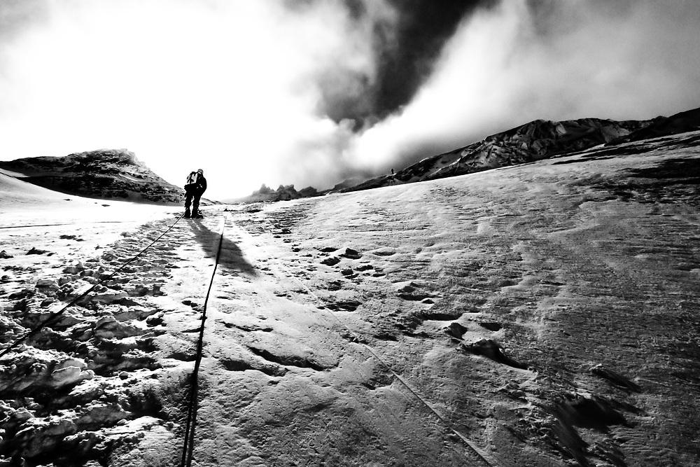 SCOTISH MOUNTAINEER | LHOTSE FACE | EVEREST | NEPAL