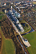 Nederland, Provincie, Plaats, 10-01-2011;.KNMI.luchtfoto (toeslag), aerial photo (additional fee required).foto/photo Siebe Swart