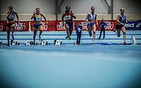Friidrett<br /> Nordic Indoor Match<br /> 14.02.15  BÆRUM IDRETTSPARK<br /> Ezinne Okparaebo vinner 60 m <br /> Foto:  Eirik Førde