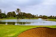 08-10-2015 -  Foto van Grote waterpartijen bij Golf du Soleil in Agadir, Marokko. De 36 holes van Golf du Soleil werden ontworpen door Fernando Muela en Gerard Courbin.