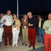 NLD/Huizen/20050709 - Concert Rabobank 100 jaar in Huizen, raad van bestuur