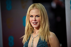 Nicole Kidman attending the EE British Academy Film Awards held at the Royal Albert Hall, Kensington Gore, Kensington, London. Picture date: Sunday February 12th, 2017. Photo credit should read: Matt Crossick/ EMPICS Entertainment.