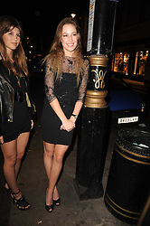 LADY TATIANA MOUNTBATTEN at the Tatler Little Black Book Party held at Tramp, 40 Jermyn Street, London on 3rd November 2010.