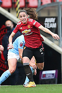Manchester United defender Ona Batlle (17) Portrait full length during the FA Women's Super League match between Manchester United Women and Manchester City Women at Leigh Sports Village, Leigh, United Kingdom on 14 November 2020.