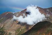 Summer Clouds and Rainbow, San Juan Mountains