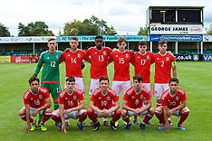 170904 Wales U19 v Iceland U19