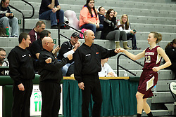 22 January 2015: 104th McLean County Tournament.  LeRoy v Tri-Valley Girls Semi-Final at Shirk Center, Bloomington Illinois