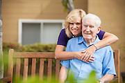 Elderly Gentleman and Caregiver