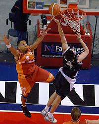 26-08-2005 BASKETBAL: NEDERLAND-BELGIE: GRONINGEN<br /> Nederland kan zich gaan opmaken voor een extra toernooi in Belgrado, waar de laatste strohalm moet worden gepakt ter handhaving in de A-groep. Dat is het gevolg van de 51-62 nederlaag / Vincent Krieger<br /> ©2005-www.fotohoogendoorn.nl