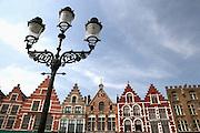 The Market.Bruges, Belgium